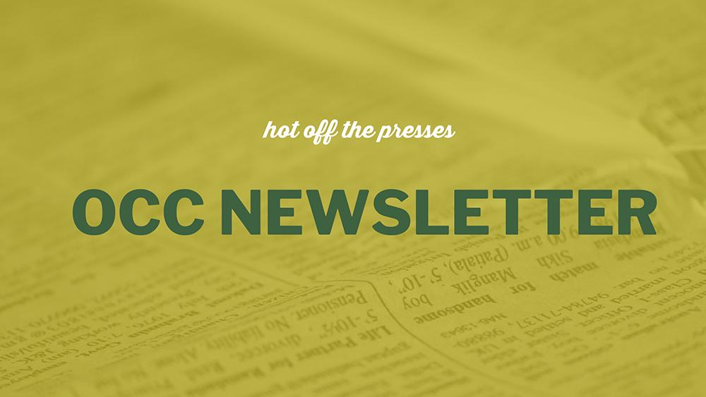 OCC Newsletter